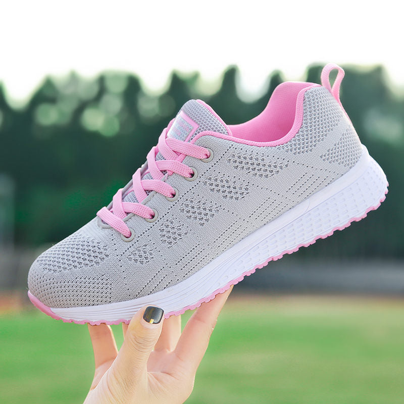 Women's Sneakers Breathable Cushioning Running Jogging Shoes