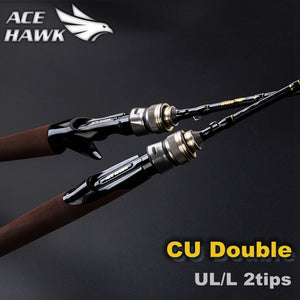 CU DOUBLE NEW 2pc 5.9ft UL/L fast Action Tips