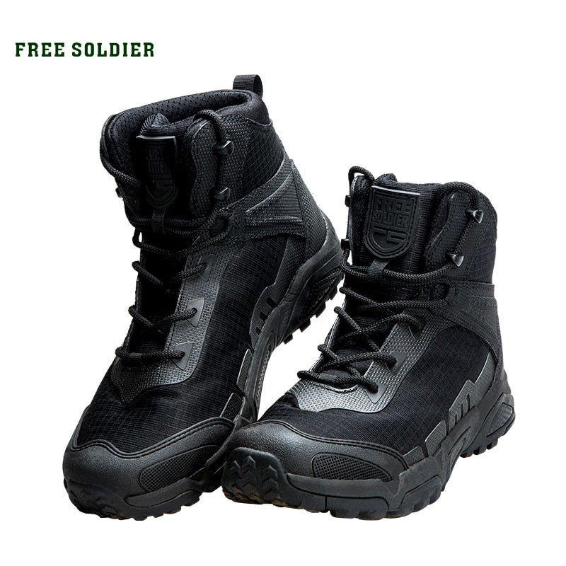 FREE SOLDIER outdoor sports  wear-resistant shoes for hiking climbing camping