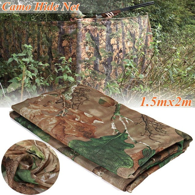 New 5 Different Size Multifunction Camo Net Blind Netting Birds Decoy Hunting Woodland Camping Military Camouflage Netting Mesh