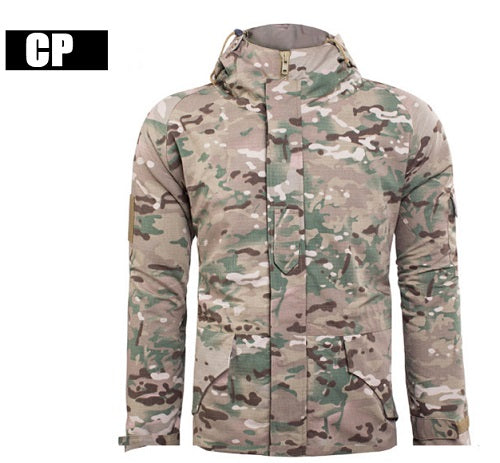 Windbreaker Hoody Softshellr Warm hunting Jacket