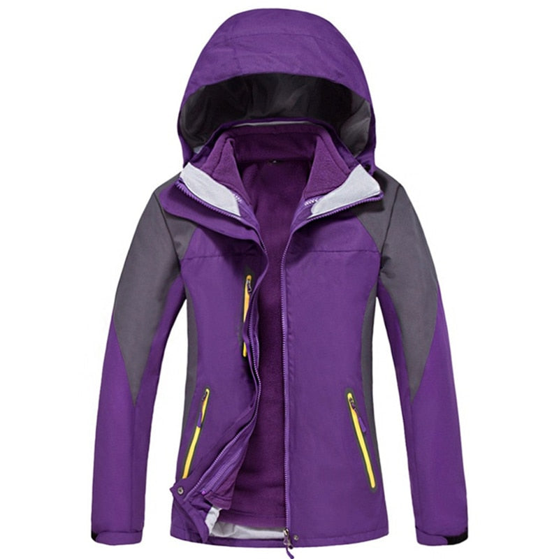 Womens Casual Waterproof Windproof Coat
