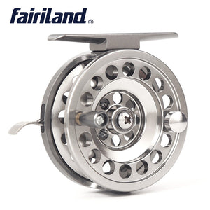 Full Aluminum Ice Fishing and Fly Reel left/right handedls Gear ratio 1:1