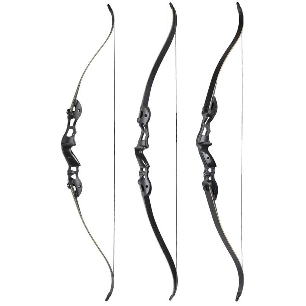 30-50lbs 56/58/60 Inches Recurve Bow Hunting Bow with 17/19/21 inches