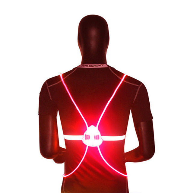 360 Reflective LED Flash Driving Vest