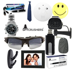 Spycrushers Spy Camera Gear