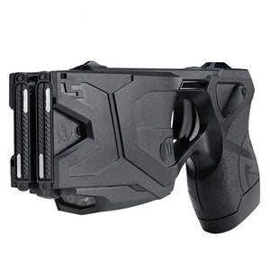 Taser X2 Defender Kit Black with Laser, LED, 2 live Cartridges, Holster, PPW ,Target.