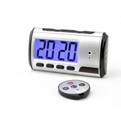 Hidden Spy Camera Alarm Clock