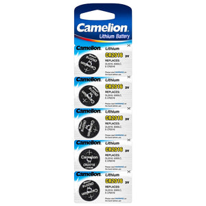 5 Pack Replacement CR2016 Lithium Batteries