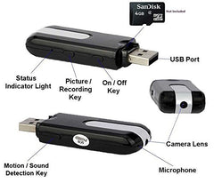 Flash Drive Spy Camera
