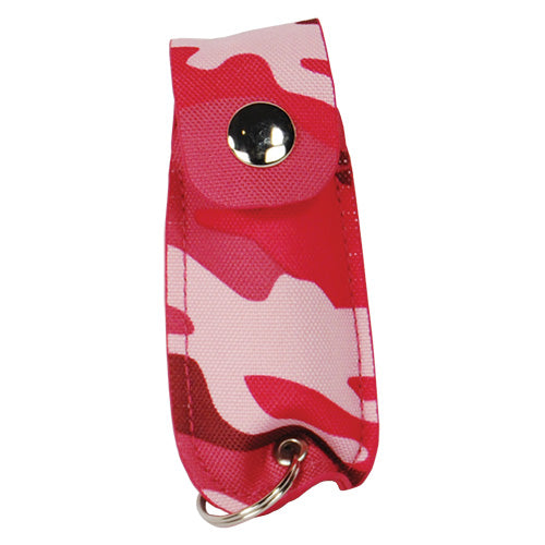 Mace KeyGuard Pepper Spray, Soft Case Pink Camo model