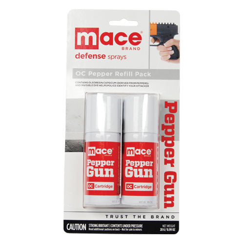 Mace Pepper Gun Refill-Red