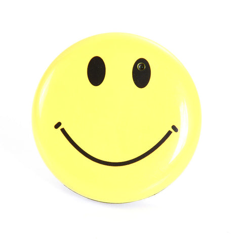 Smiley Face Pin Spy Camera