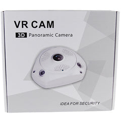 1280P HD Fish Eye 3.0 MP Camera with Wi-Fi and DVR