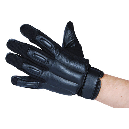 Tactical Goat Leather Glove with Steel Shot Large