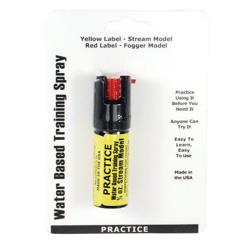 1/2oz Inert Practice Defensive Spray
