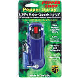 Pepper Shot 1.2% MC 1/2 oz Halo Holster Blue