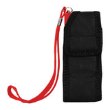 Rechargeable Runt 20,000,000 volt stun gun with flashlight and wrist strap disable pin Red