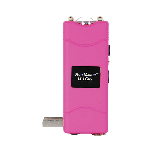 Stun Master Lil Guy 12,000,000 volts Stun Gun W/flashlight and Nylon Holster Pink