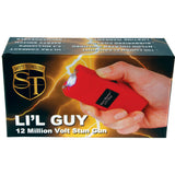 Stun Master Lil Guy 12,000,000 volts Stun Gun W/flashlight and Nylon Holster Red