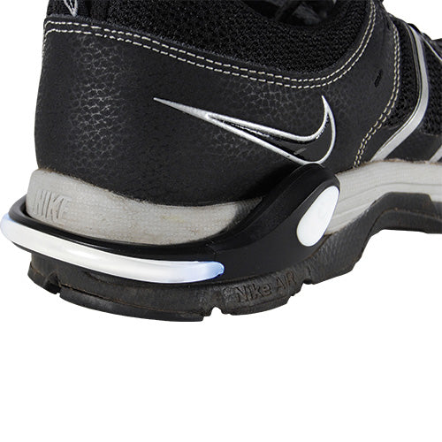 Safe Steps LED Clip On Shoe Lights for Runners White