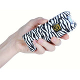 20,000,000 volt MultiGuard Stun Gun Alarm and Flashlight with Built in Charger Zebra