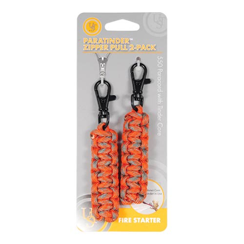ParaTinder Zipper Pull 2-pack