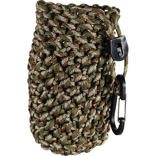 Paracord Bag can also be used to keep a drink cold