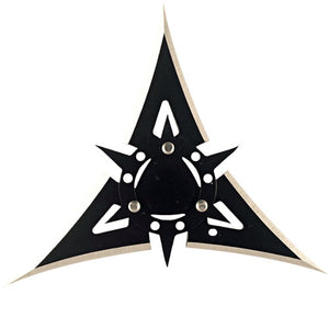 "4"", 3 Point Black Throwing Star"