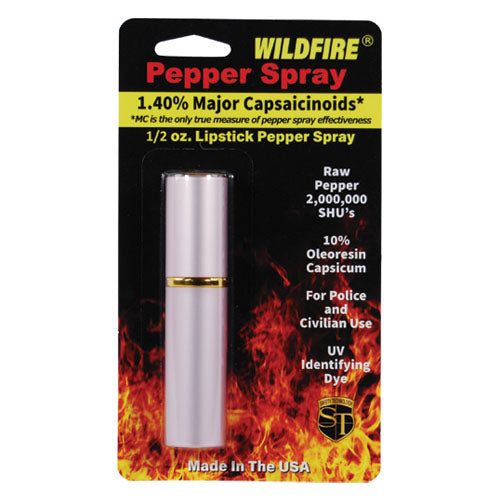 WildFire 1.4% MC Lipstick Pepper Spray Pink