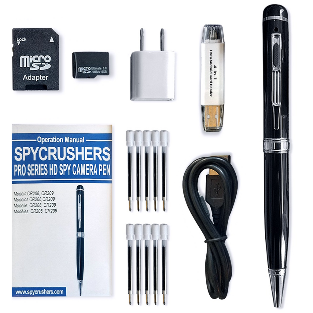 Pro Series 1080p HD Spy Pen Camera