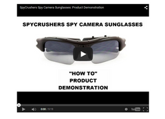 Spy Camera Sunglasses