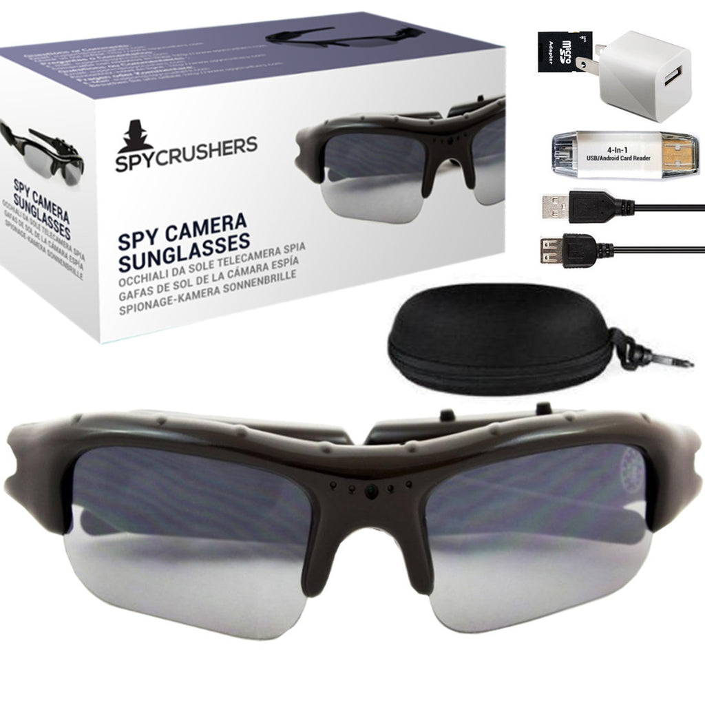 7c94419854 SpyCrushers® Spy Camera Glasses