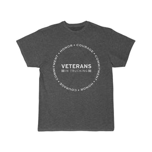 Navy Core Values Circle Tee
