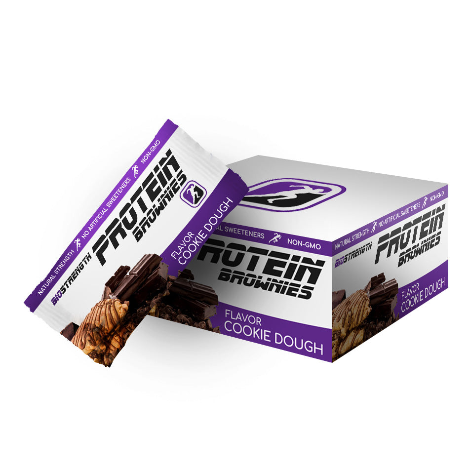 BioStrength Protein Brownies