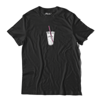 Iced Coffee Tee Black