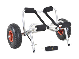 Calhome Duable Boat Kayak Canoe Carrier Transport Trailer Trolley Dolly Wheel