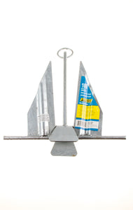 "Seachoice Hot Dipped Galvanized Utility Anchor Boat Size 20"" 24"" Marine New"