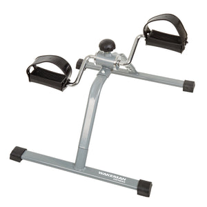 Wakeman Portable Pedal Bike Stationary Machine Under Desk Fitness Exercise New