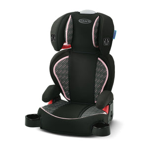 Graco High Back Booster Car Seat Padded Height Adjustable Cup Holder Bria New