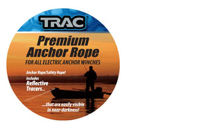 Trac Outdoor Anchor Rope 5mm x 100 Stainless Steel Shackle Fresh Salt water New