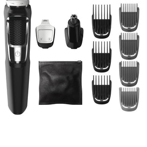 Philips Norelco Hair Trimmer Grooming Oil Free Steel Blades 13 Attachments New