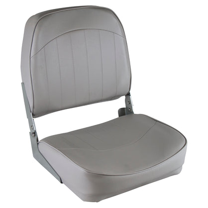 Wise Boat Seat Low Back High Impact Frame Mildew Resistant Vinyl Grey Marine New