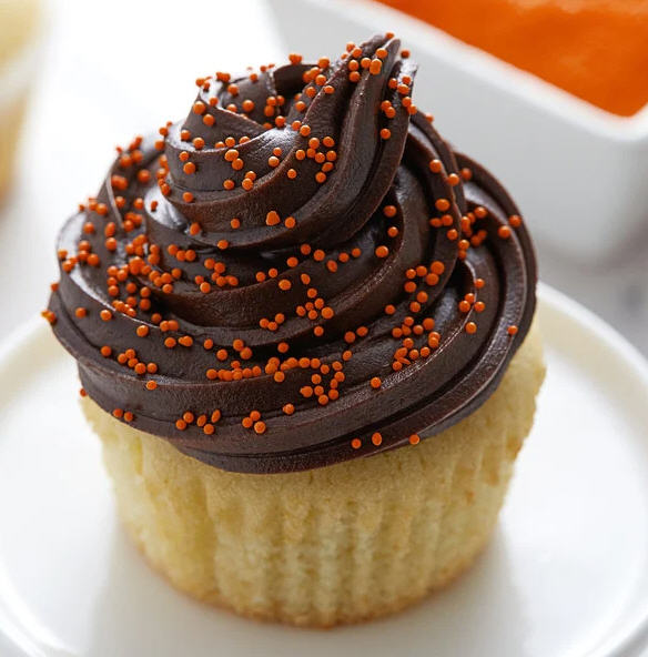 Orange Nonpareils Bake In Sprinkle On Edible Confetti Sprinkles Toppings For Cake Cookie Cupcake Icecream Donut 4oz