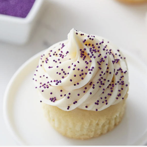 Purple Nonpareils Bake In Sprinkle On Edible Confetti Sprinkles Toppings For Cake Cookie Cupcake Icecream Donut 4oz