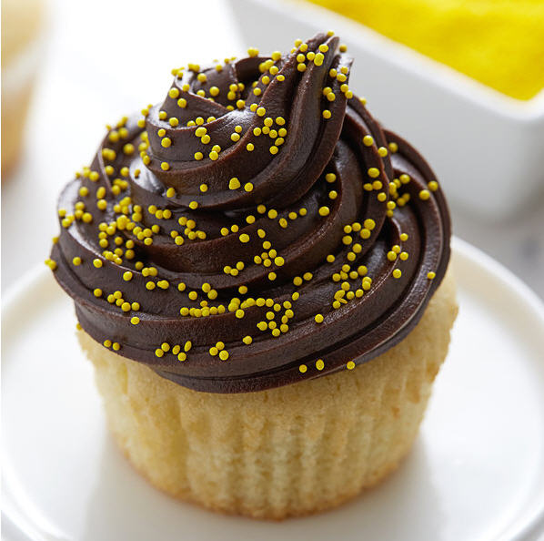 Yellow Nonpareils Bake In Sprinkle On Edible Confetti Sprinkles Toppings For Cake Cookie Cupcake Icecream Donut 4oz