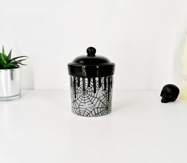 Grey Web Storage Canisters