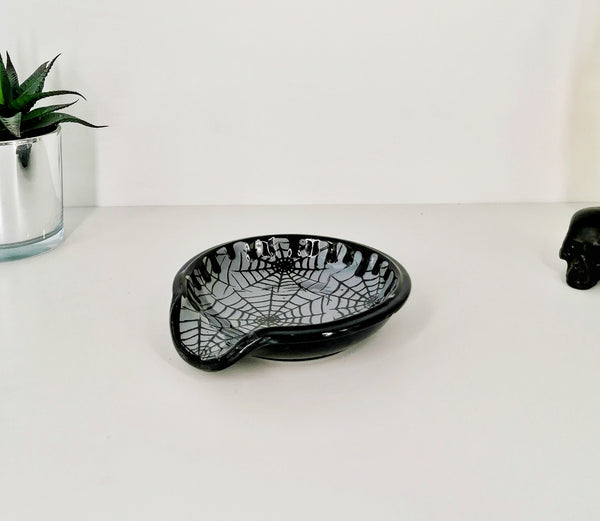 Grey Web Spoon Rest