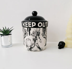Large Zombie Cookie Jar