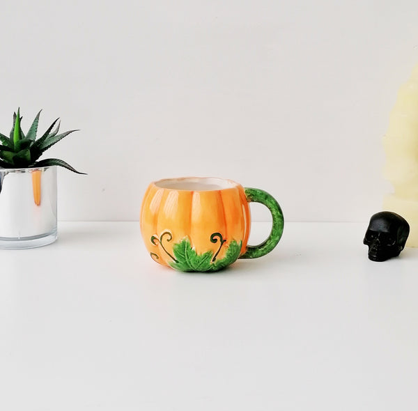Orange Pumpkin Mug